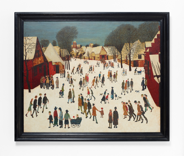 Nancy Fouts, Lowry_Brueghel, 2013, (c) Nancy Fouts, Courtesy of Flowers Gallery