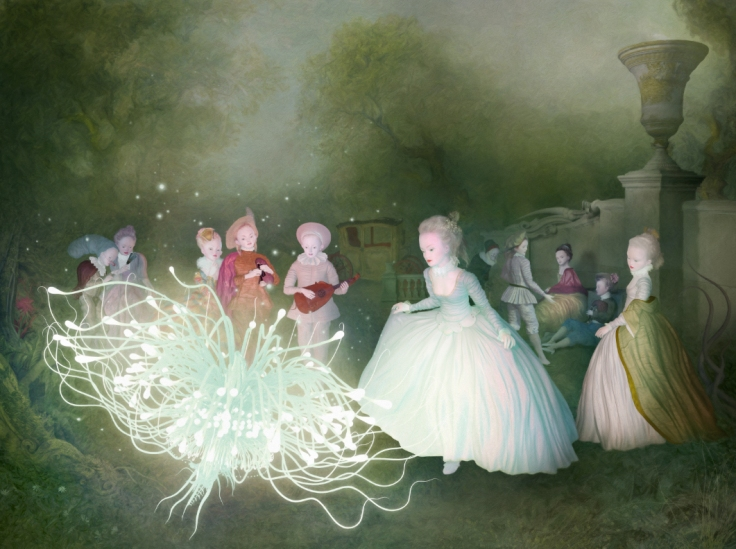 "Ray Caesar, Festival of Light, Digital Ultrachrome print on archival paper, edition of 20, 40"" x 30"""
