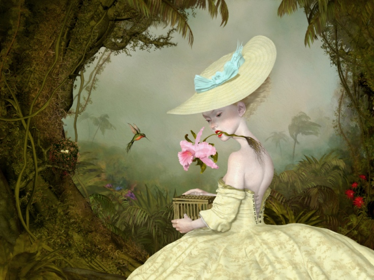 "Ray Caesar, The Collector, Digital Ultrachrome print on archival paper, edition of 20 40"" x 30"", April 2018"