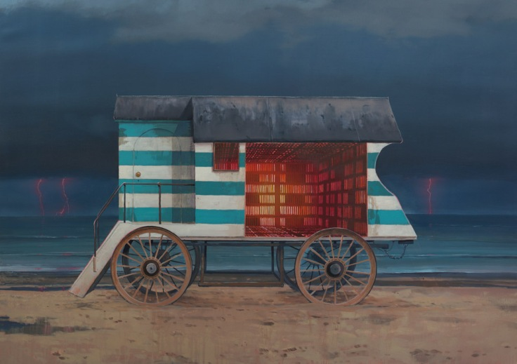 The Machine_110x80cm_oilonlinen